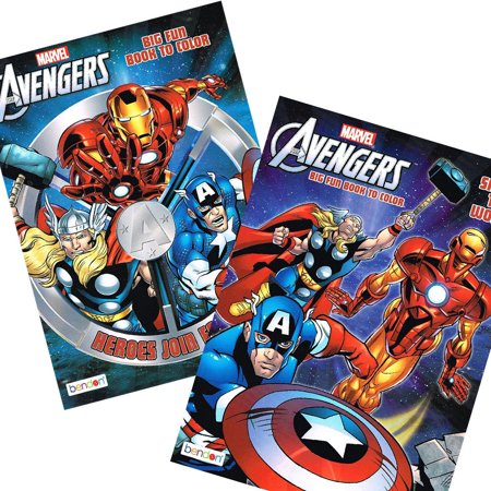 Avengers Coloring Book – Coloring Books for Kidz