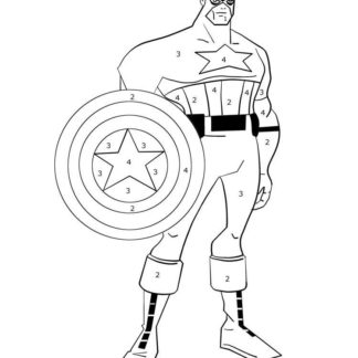 Captain America Coloring Sheets Pack Of 15 Coloring Books For Kidz