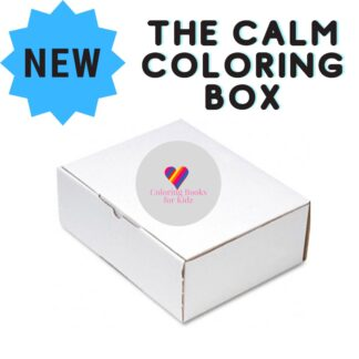 The Calm Coloring Box