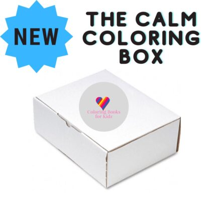 The Calm Coloring Box